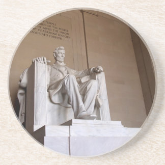 DC Series---Lincoln Memorial DC 4 Beverage Coasters