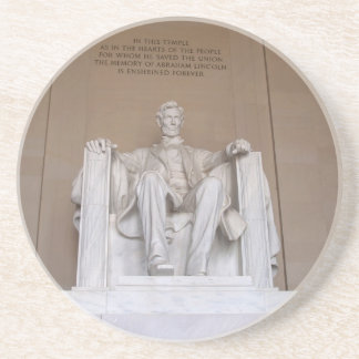 DC Series---Lincoln Memorial DC 4 Drink Coaster