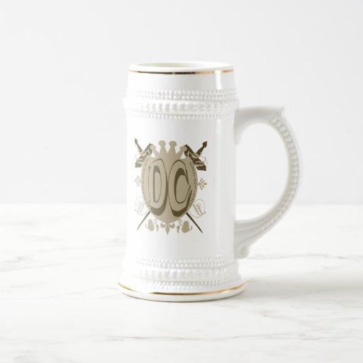 DC SHIELD LOGO COFFEE MUG