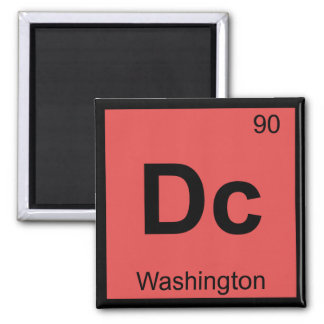 Dc - Washington Chemistry Periodic Table Symbol Magnet