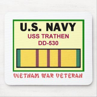 DD-530 TRATHEN VIETNAM WAR VET MOUSE PAD