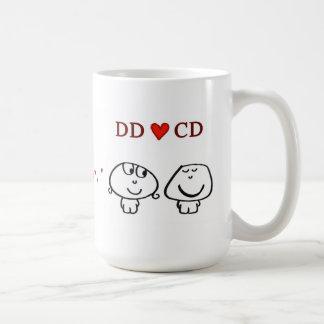 """""""DD CD"""" BASIC WHITE MUG"""