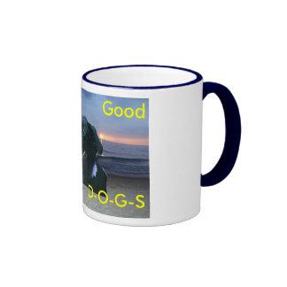 DD Dog Pic, They're, Good, Little, D-O-G, 4 Mug