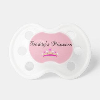 """DD/lg """"Daddy's Princess"""" Paci Dummy"""