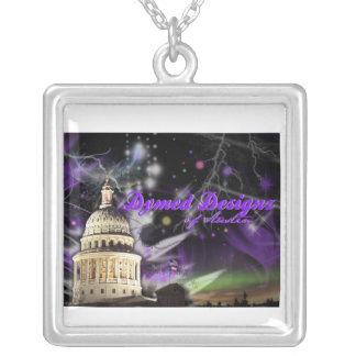 DD logo necklace