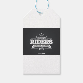 DD Motorcycle Riders T Shirt Design 76009.ai Gift Tags