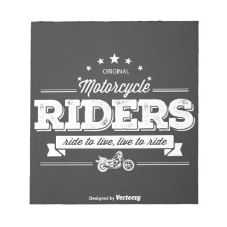 DD Motorcycle Riders T Shirt Design 76009.ai Notepad