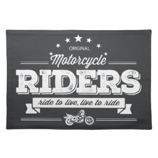 DD Motorcycle Riders T Shirt Design 76009.ai Placemat