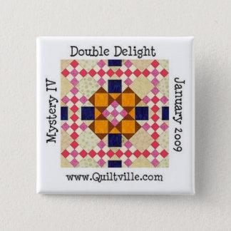 DDbutton 15 Cm Square Badge