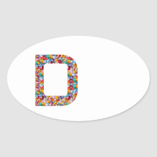 DDD Give them the DREAM, and they will ACHIEVE Oval Sticker
