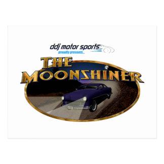"""ddj motorsports  """"The Moonshiner"""" postcard"""