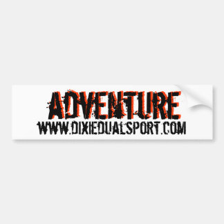 DDS Adventure Bumper Sticker