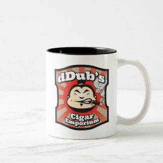 dDub's Cigar Emporium Two-Tone Coffee Mug