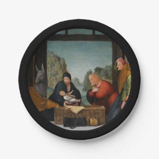 De Aanbidding der Herders Paper Plate