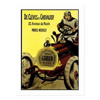 De Cleves et Chevalier - Vintage French Ad Postcard