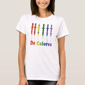 De Colores Melting Crayons T-Shirt