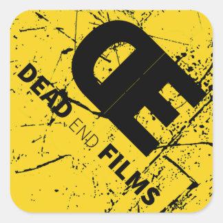 DE Films Square Stickers, Glossy Square Sticker