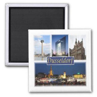 DE * Germany - Dusseldorf Magnet