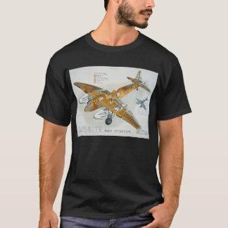 de Havilland Mosquito Main Structure T-Shirt