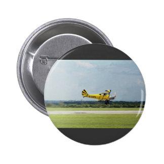 De Havilland Tiger Moth 6 Cm Round Badge