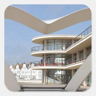 De La Warr Pavilion Bexhill-on-Sea Square Sticker
