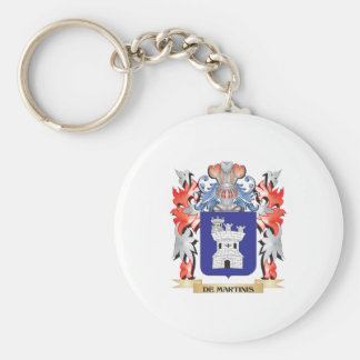 De-Martinis Coat of Arms - Family Crest Key Ring