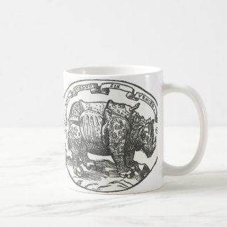 de Medici's Rhinoceros Coffee Mug