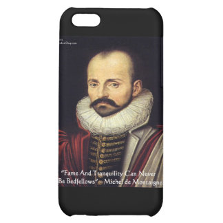 "de Montaigne ""Bedfellows"" Wisdom Quote Gifts iPhone 5C Cover"