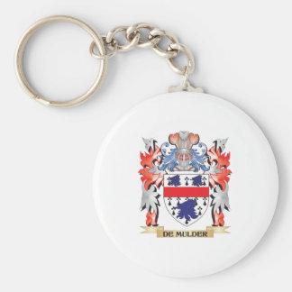 De-Mulder Coat of Arms - Family Crest Key Ring