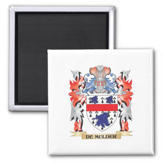 De-Mulder Coat of Arms - Family Crest Magnet