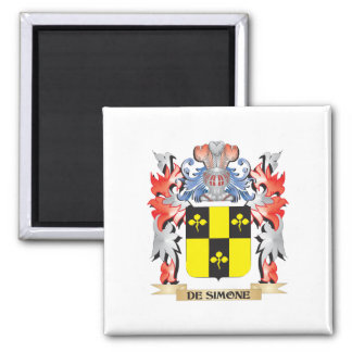 De-Simone Coat of Arms - Family Crest Magnet