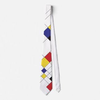 De Stijl Art Tie