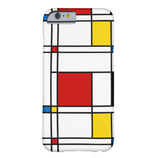 De Stijl Pattern Barely There iPhone 6 Case