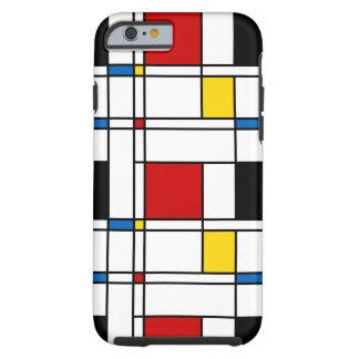 De Stijl Pattern Tough iPhone 6 Case