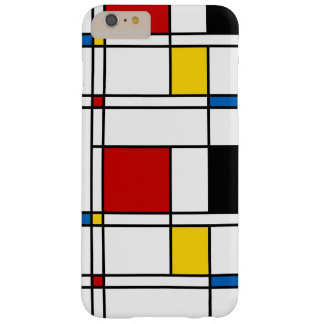De Stijl Pattern Barely There iPhone 6 Plus Case
