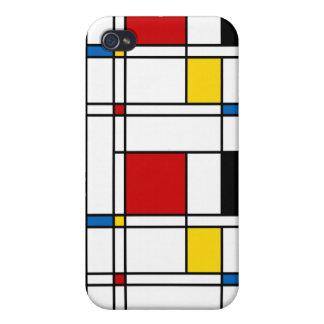 De Stijl Pattern Case For The iPhone 4