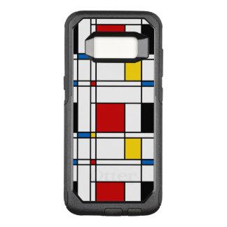 De Stijl Pattern OtterBox Commuter Samsung Galaxy S8 Case