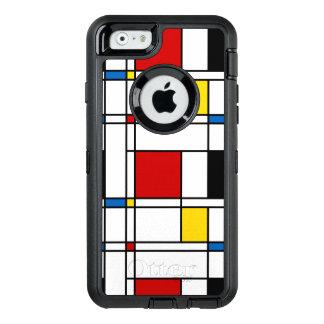 De Stijl Pattern OtterBox iPhone 6/6s Case