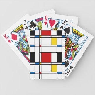 De Stijl Pattern Card Deck