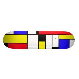 de stijl custom skate board