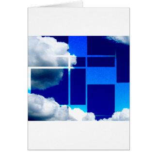 De Stijl Sky Card