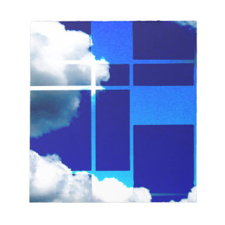 De Stijl Sky Notepad