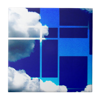 De Stijl Sky Tile