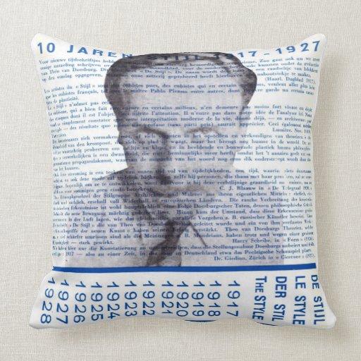 DE STIJL (THEO van DOESBURG)  Throw Pillow