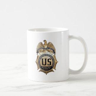 DEA Badge Basic White Mug