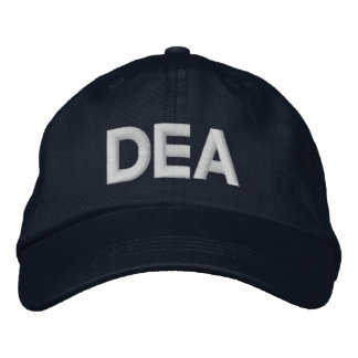 DEA EMBROIDERED BASEBALL CAP