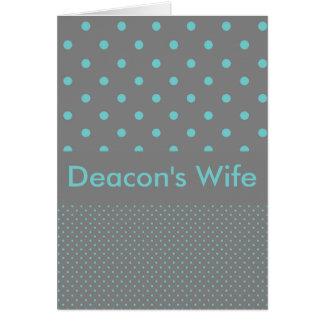Deacon's Wife Card