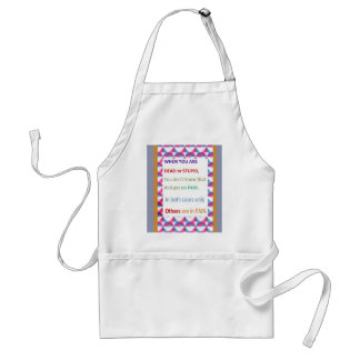 DEAD and STUPID  -  Humor Comedy Reality Adult Apron