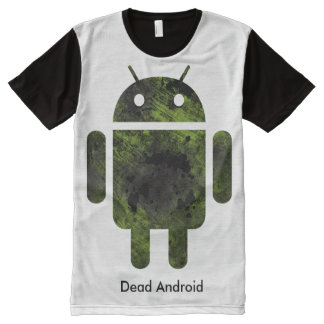 Dead Android All-Over Print T-Shirt
