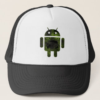 Dead android trucker hat